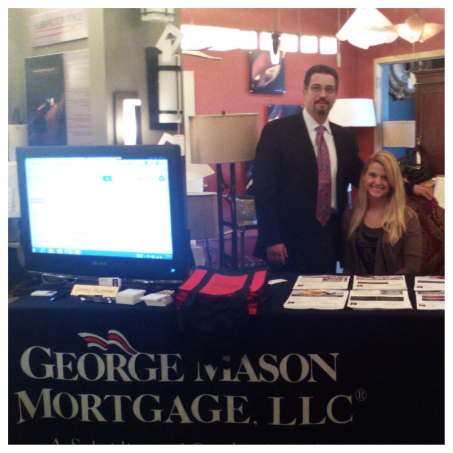 The wonderful Jimmy Hummer senior loan officer at George Mason Mortgage during the BNI  sc 1 st  Pinterest & The wonderful Jimmy Hummer senior loan officer at George Mason ...