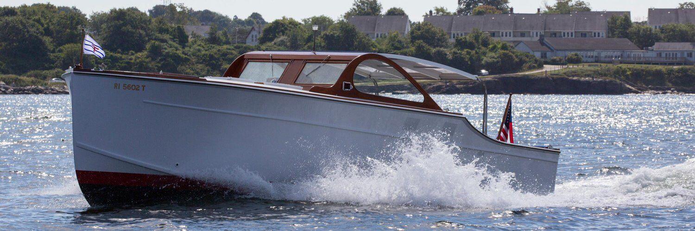 Huckins Yacht made in Jacksonville Florida.