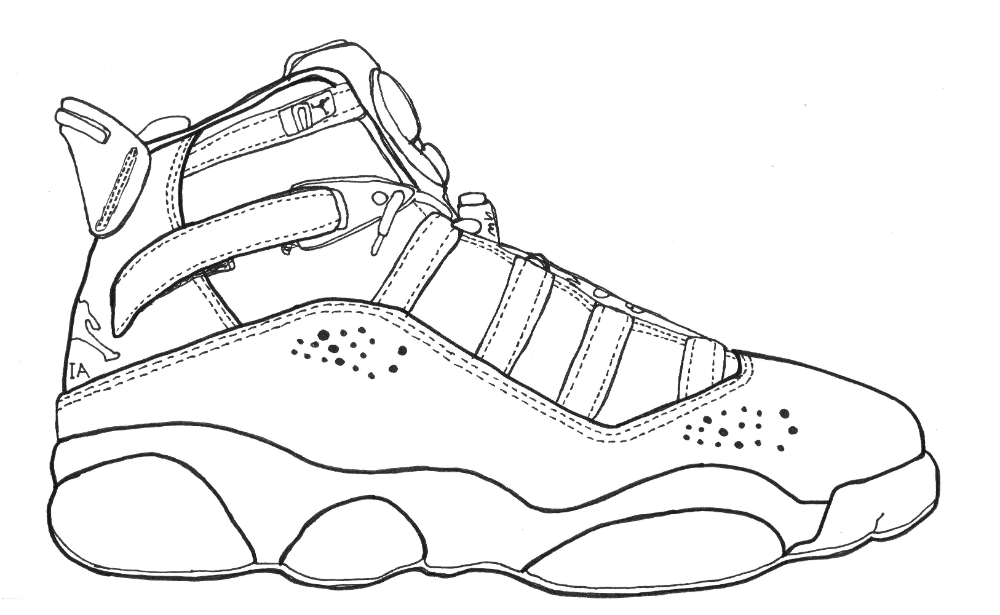 Jordan Shoes Coloring Pages Printable Pictures Of Shoes Coloring Books Jordan Coloring Book