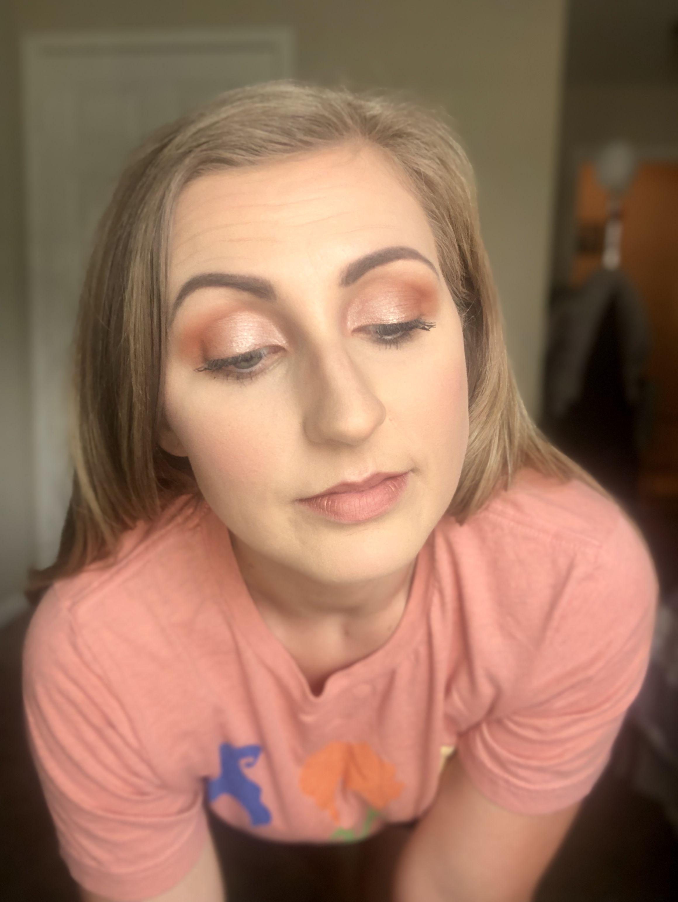 Pumpkin eye look Liquid shadow, Younique presenter, Fall
