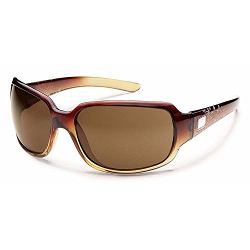 6e1051c4b9be Suncloud Cookie Polarized Sunglasses Brown Fade Laser Frame Brown ...