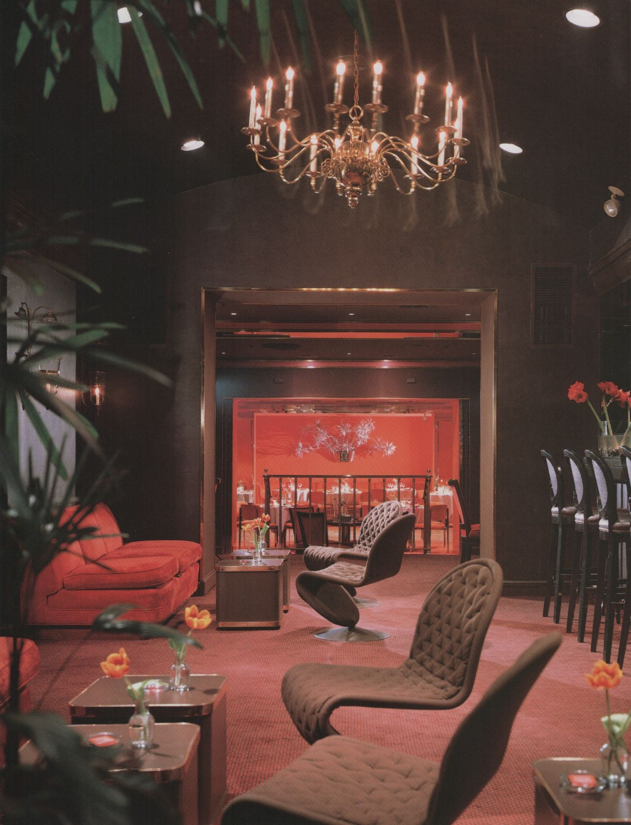 Double S New York New York From Dining By Design 1985 Retro