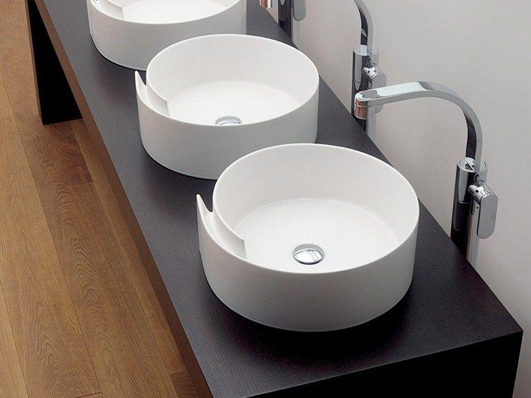 Раковина Изде́Лий Roll By Ceramica Flaminia | Дизайн Nendo