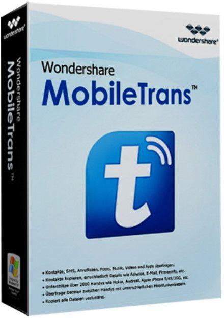 Wondershare MobileTrans Crack Plus Serial Key Full Free Download