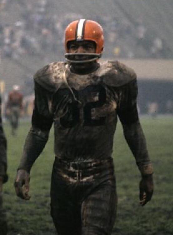 Mud + Jim Brown   Football  Browns  NFL 2cc4a2fcba0ea