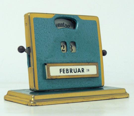 Age of Diesel — ein-bleistift-und-radiergummi: Art Deco Kalender...