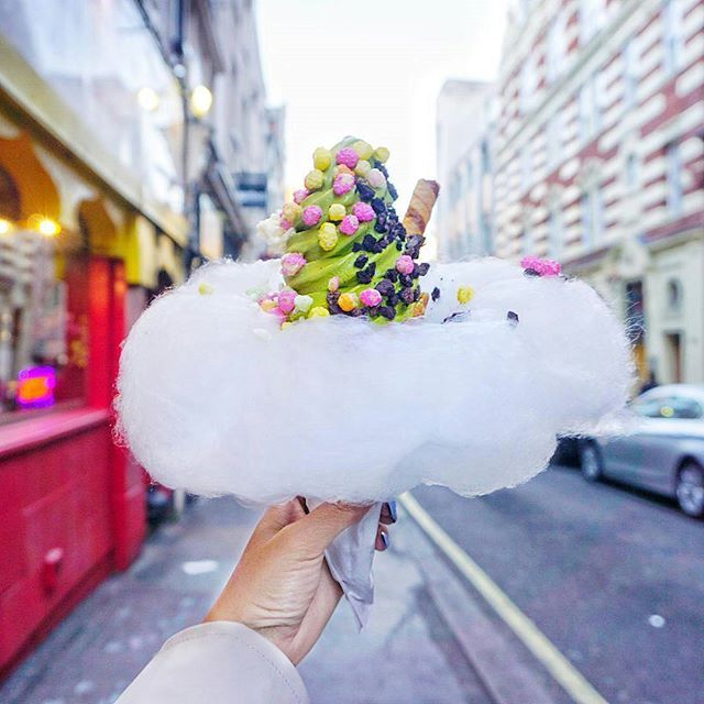 Closed Now For Today Thanks For Coming All Another Lovely Rg From Hanhruaaa Yummy Food Dessert Rainbow Snacks Tasty Ice Cream
