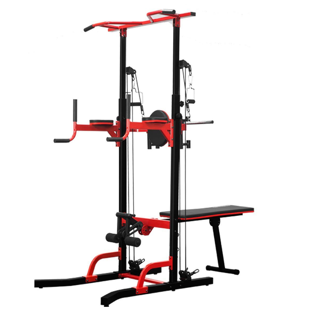 Powertrain Multi Station Home Gym Chinup Pullup Power
