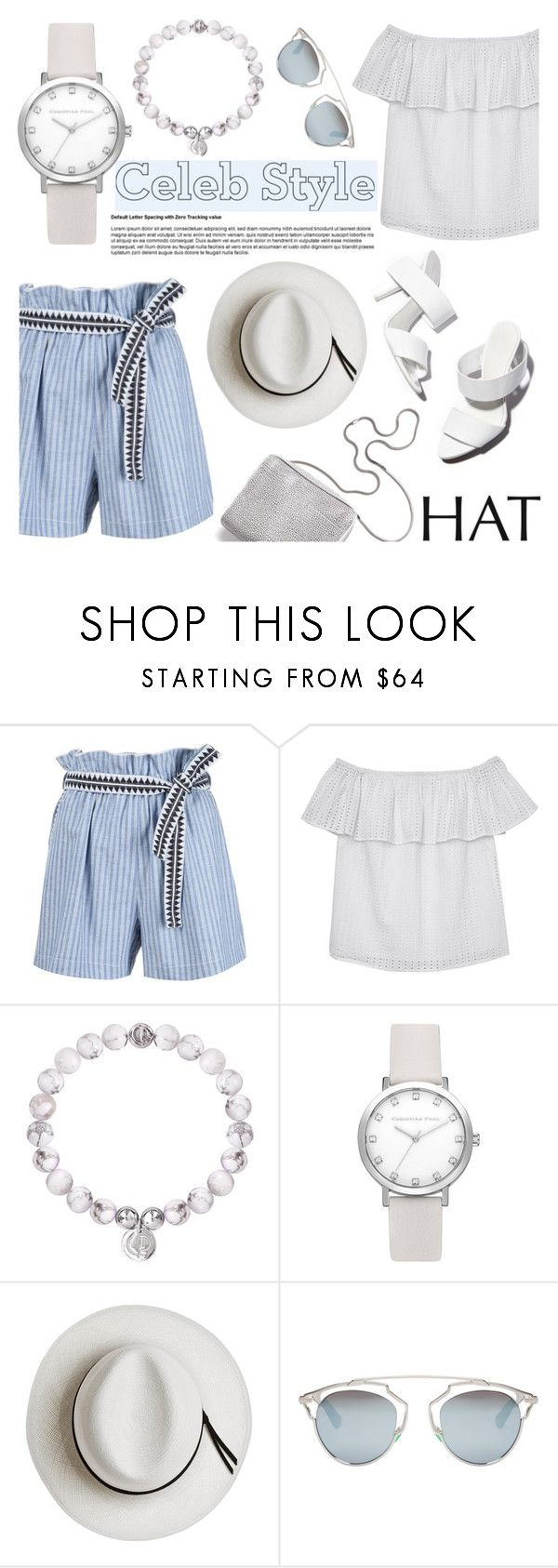 """""""Get the Look: Hat Edition"""" by christianpaul ❤ liked on Polyvore featuring Lemlem, Olive + Oak, Alexander Wang, 3.1 Phillip Lim, Calypso Private Label, Christian Dior, GetTheLook, hats, contestentry and christianpaulwatches"""