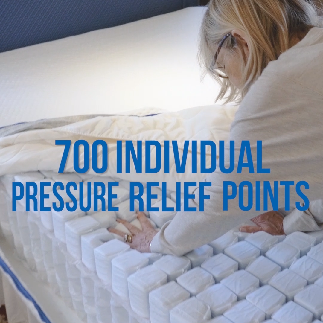 700 Tiny Mattresses In One Video Video Mattress Cool Things