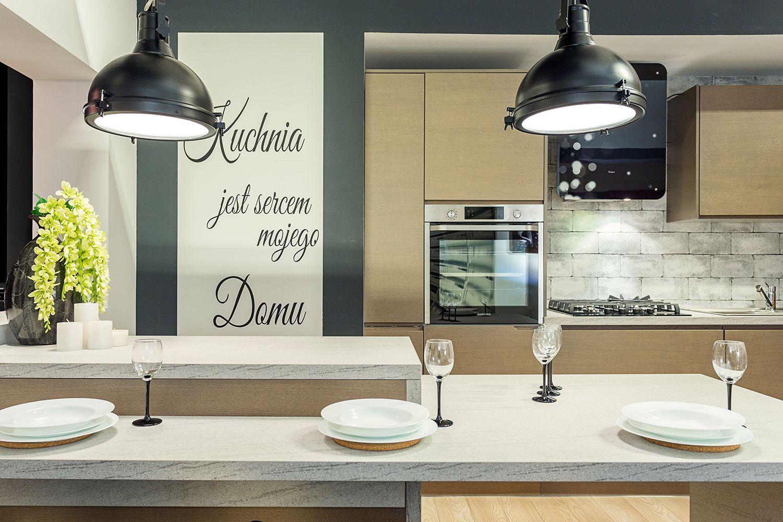 Podpisujemy Sie Pod Napisem Na Scianie Kuchnia Jest Sercem Mojego Domu Zgadzamy Sie W 100 Kuchnia Inspi Framed Bathroom Mirror Furniture Bathroom Mirror
