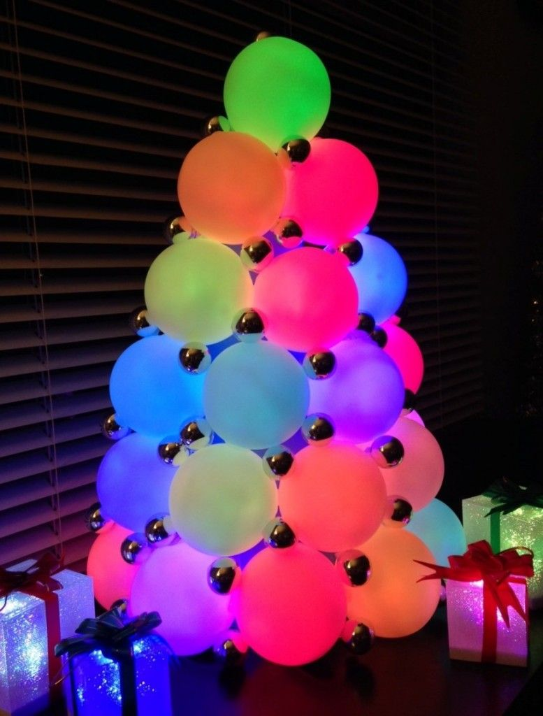 Diy Centerpieces Go Glam With Lights Glow Party Lighted