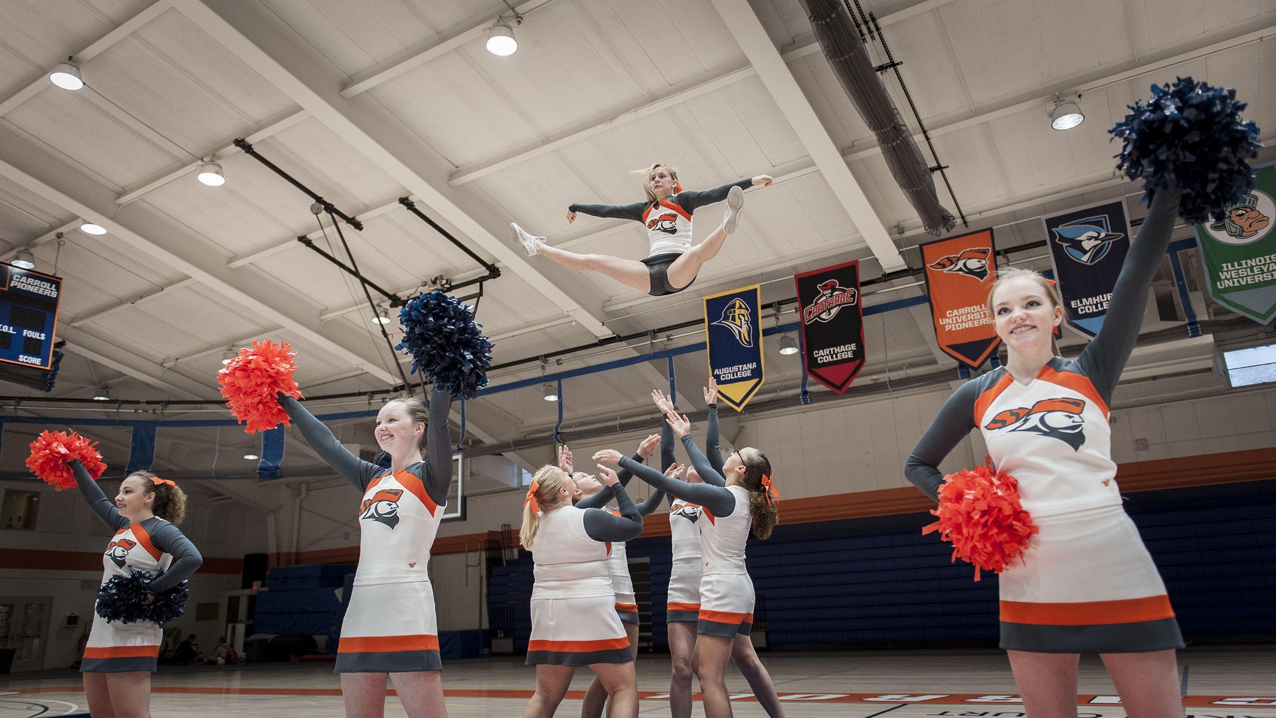 Carroll university cheer team cheer team carroll
