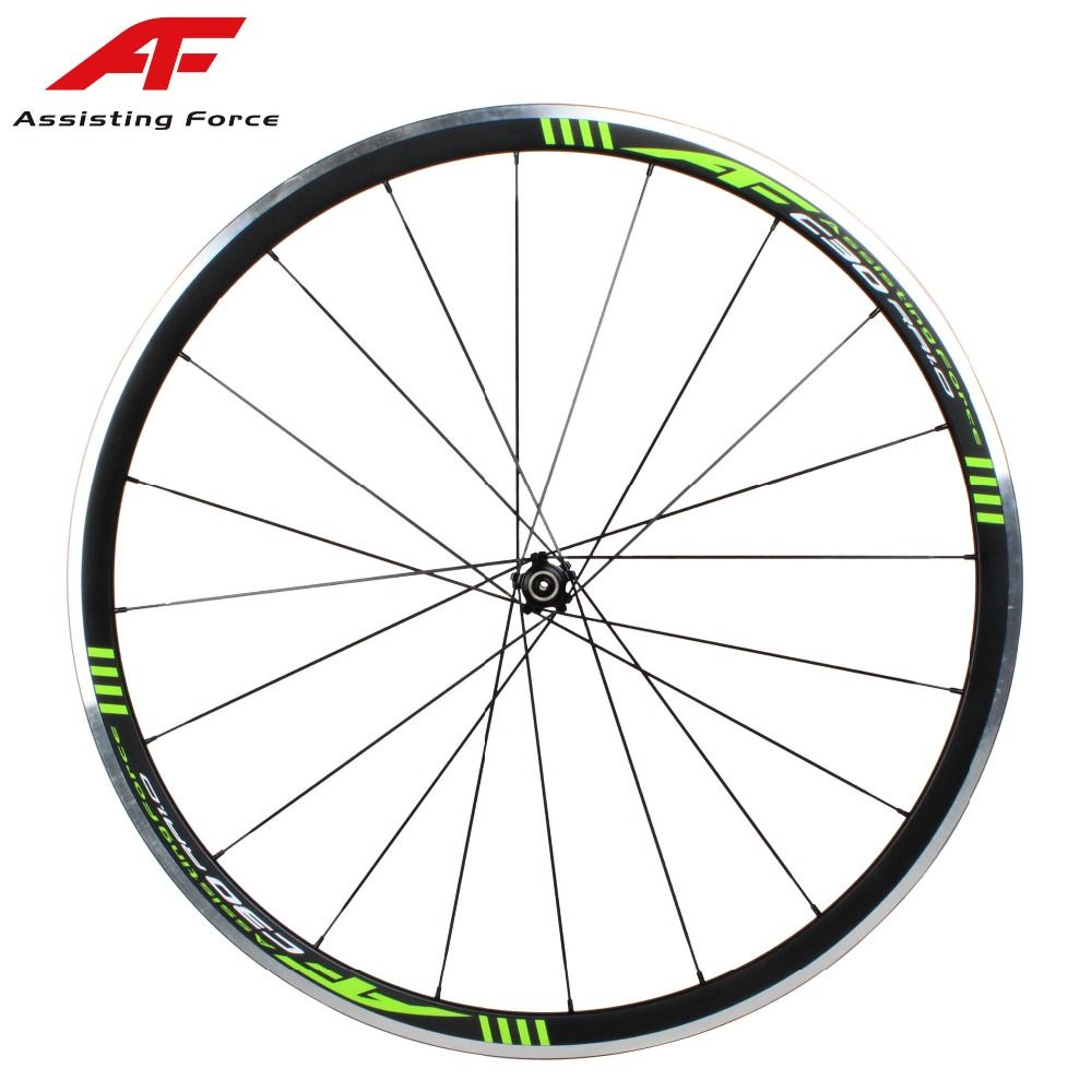 New Af Alloy Super Light Clincher Wheels Only 1500g Aero Spokes Straight Pull Hub 700c Ultra Light Aluminum Road Bik Road Bike Wheels Bike Wheel Bicycle Wheel