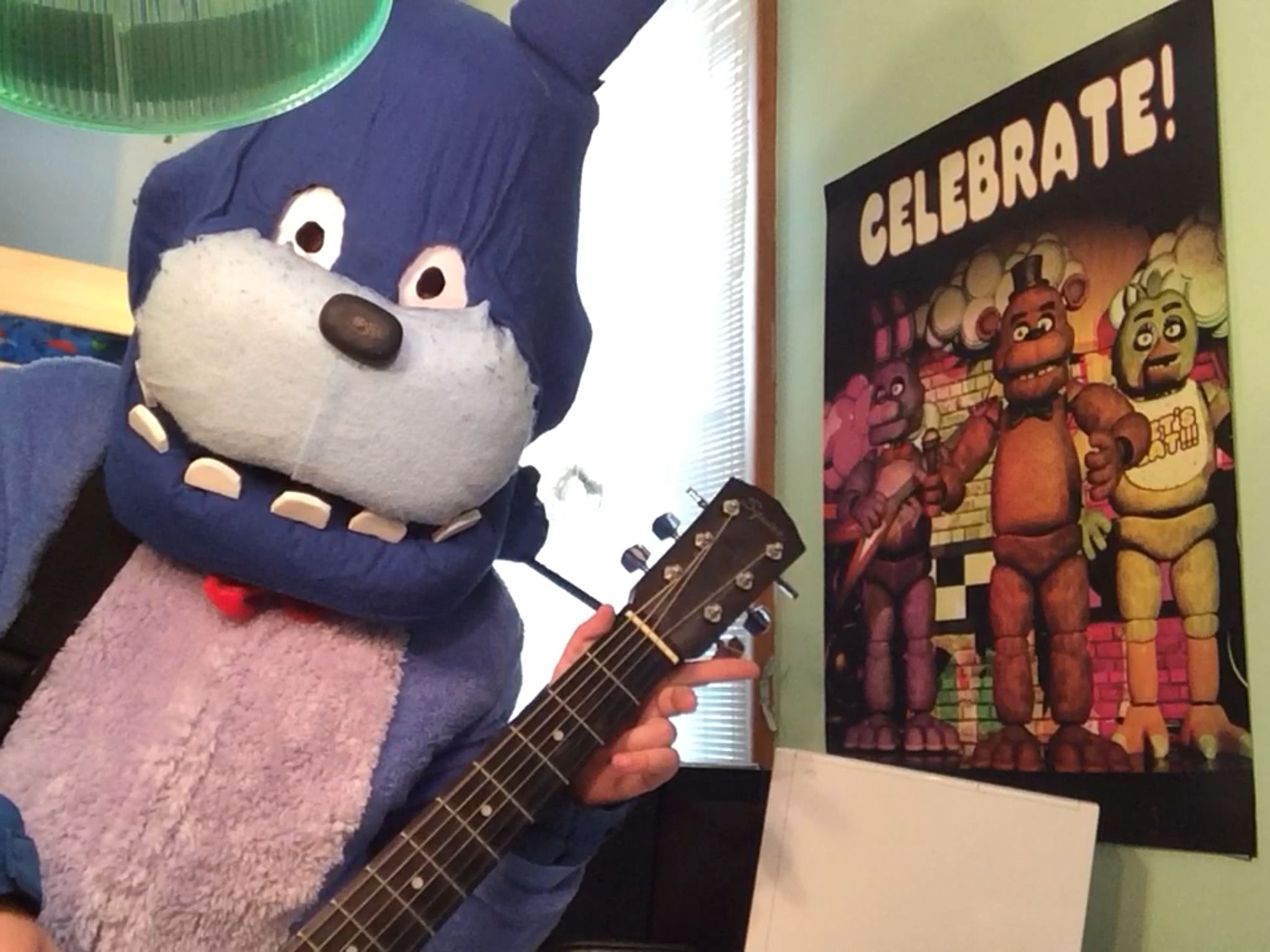 Fnaf bonnie costume for sale - Five Nights At Freddy S Bonnie The Bunny Costume It Was Hard Making This Costume