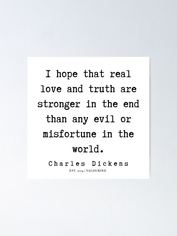 21 | Charles Dickens Quotes | 190722 Poster by QuotesGalore