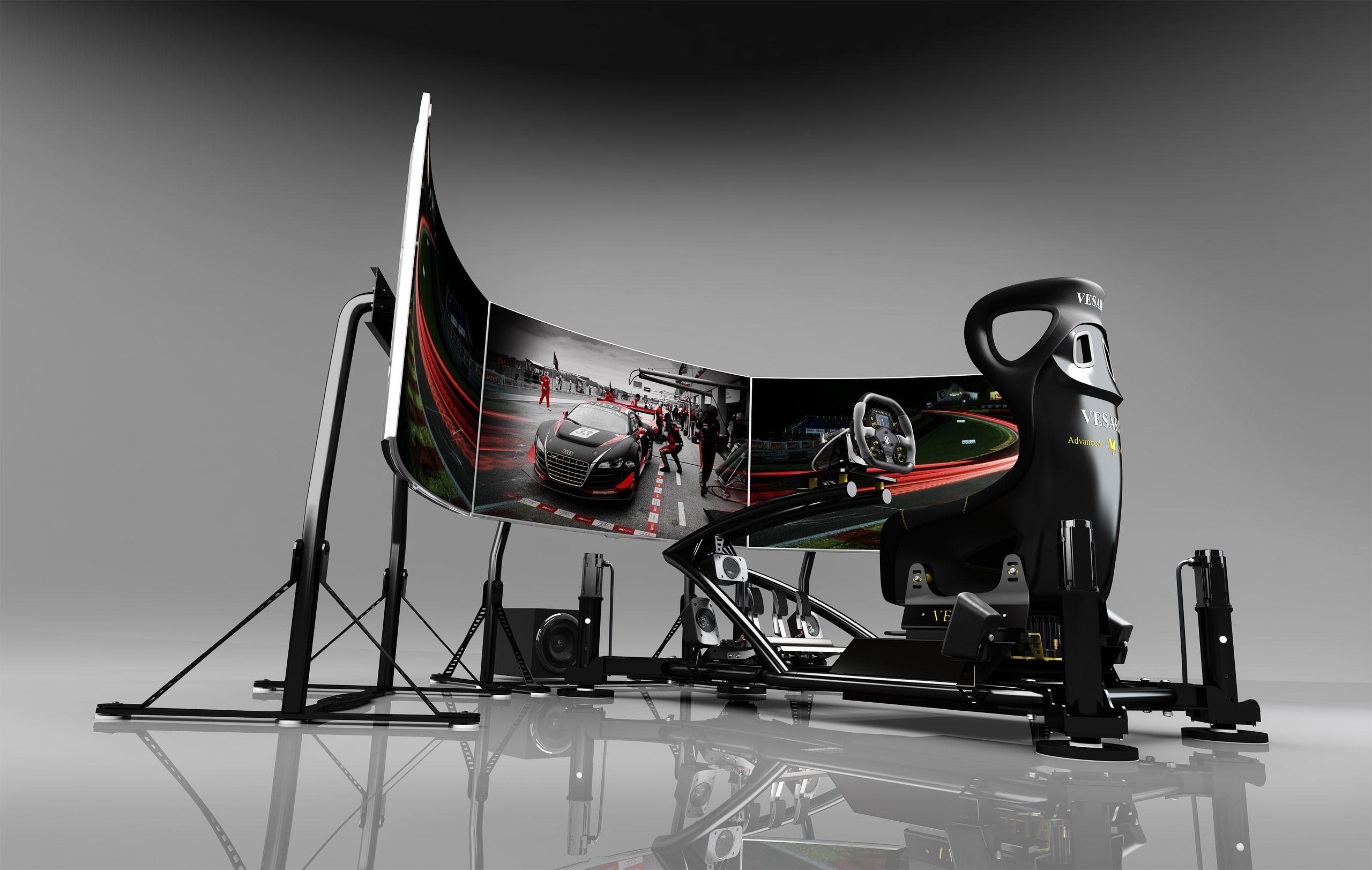Sim Racing Simulator / Formula 1 Simulation (f1) / Racing