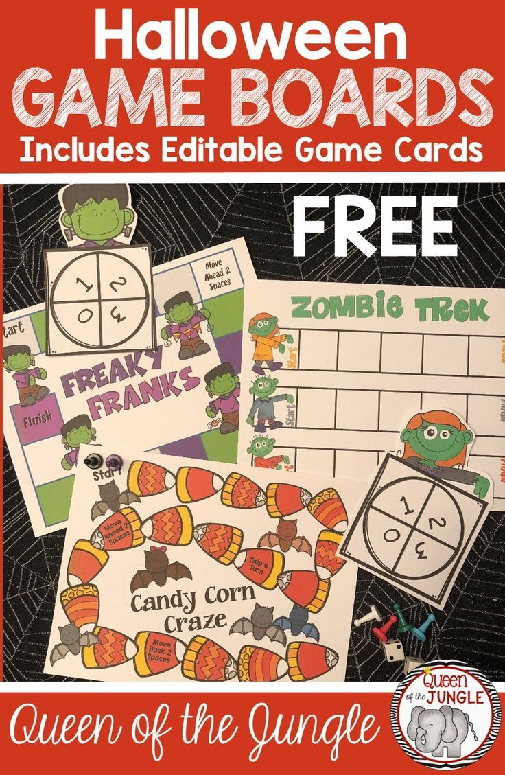 Halloween Games for School. Use these Free Halloween Game