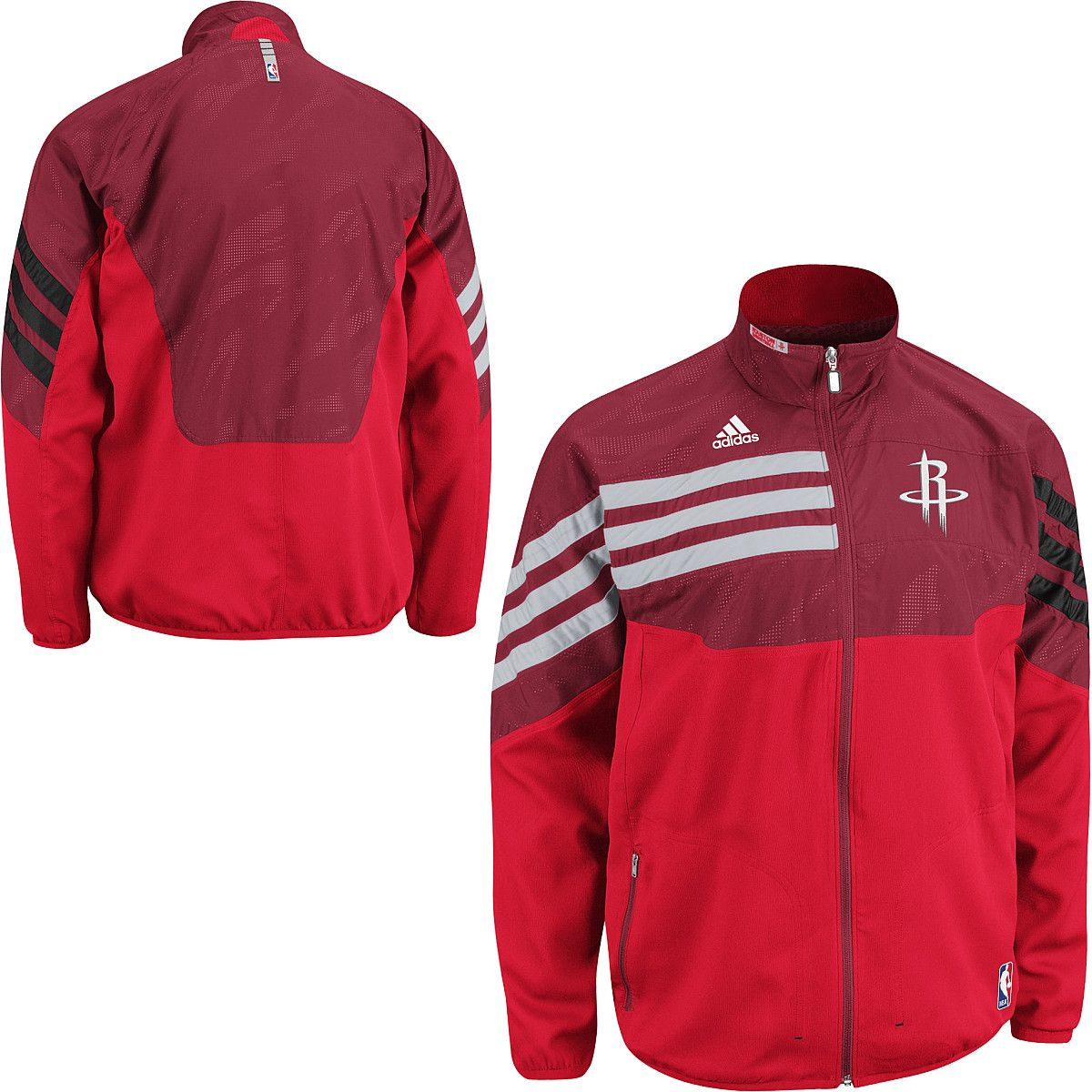 adidas Houston Rockets On-Court Warmup Jacket  aadecd22c