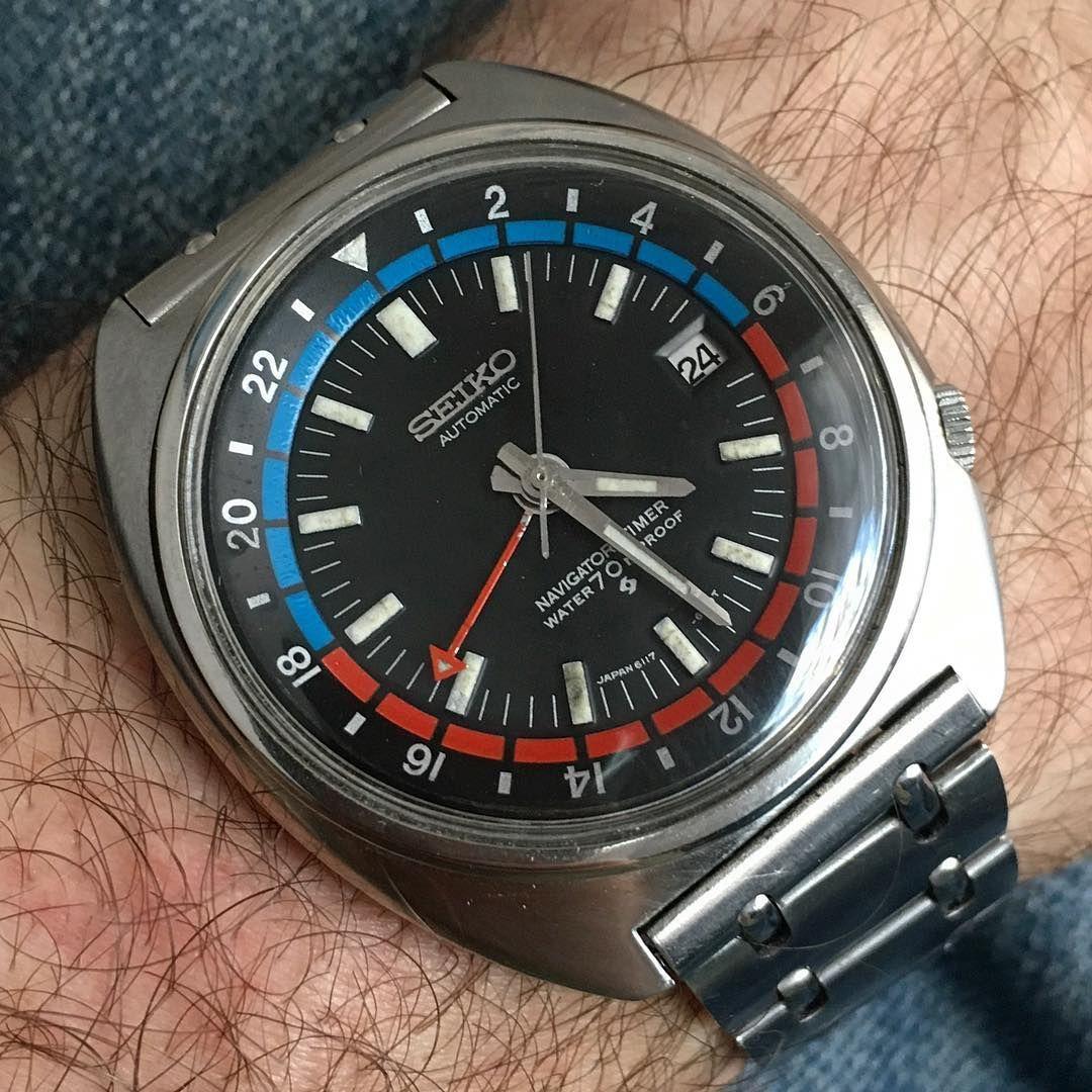 Seiko Saturday continues... #seiko #seikowatch #seikowatches #watches #watch #vintagewatch #vintagewatches #seikonavigator #navigatortimer #wruw #womw #wotd #seiko6117 #dailywatch #watchoftheday #wristporn #wristwatch #vintageseiko #wornandwound #wis #watchfam #watchesofinstagram #instawatch #watchcollector #watchaddict #watchphotography #horophile