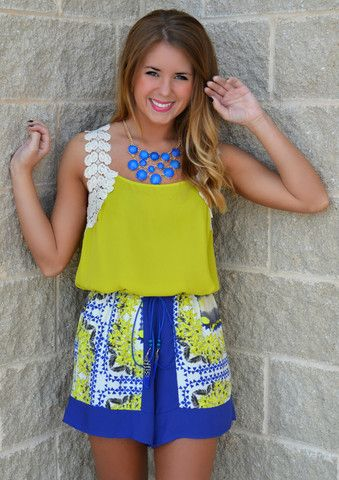 BIRDS OF A FEATHER PRINTED SHORTS $32.99