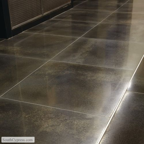 Metal Fusion Zinc Oxide featured on the Metal Look Tile page from South  Cypress.