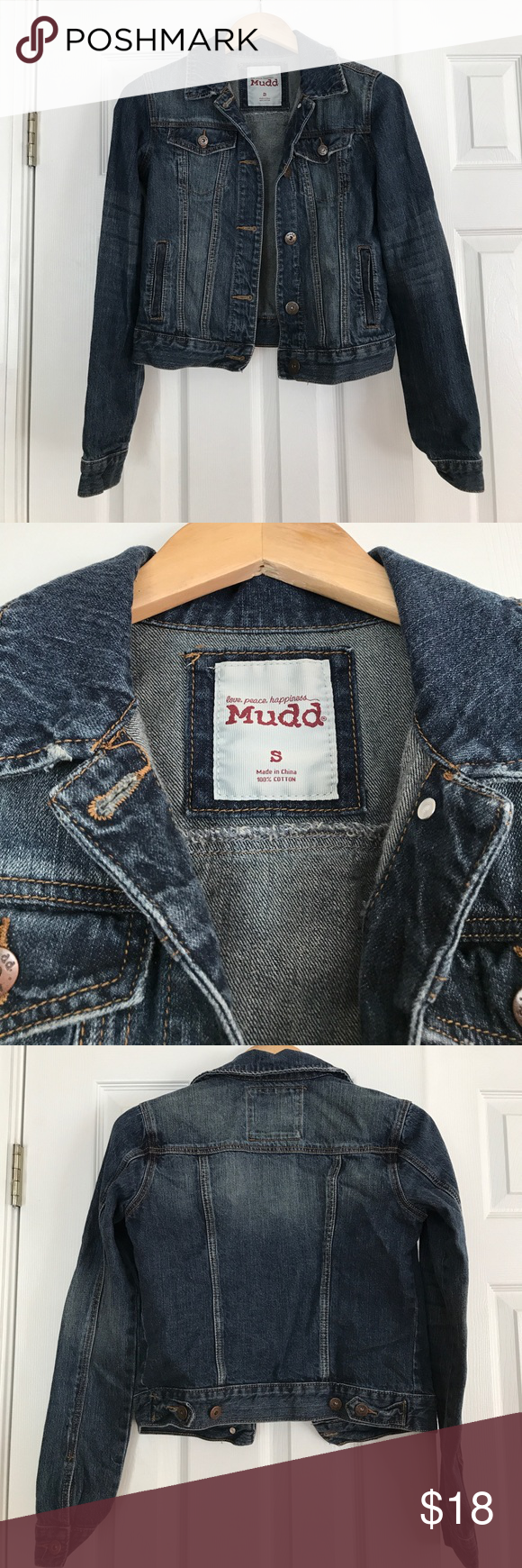 Mudd Denim Jacket Great condition denim jacket. Size small. Mudd Jackets & Coats