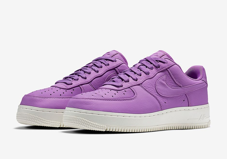 Sneakers women - NikeLab Air Force 1 low purple