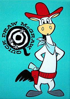 quick draw mcgraw classic cartoonsclassic cartoon charactersdrawing