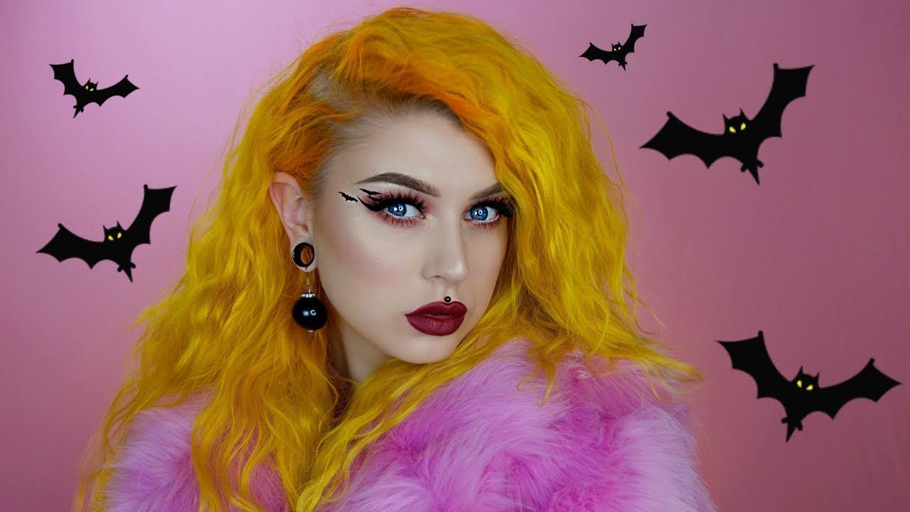 Spooky Grwm Talking About Tinder Video Ideas Tattoos Evelina Forsell Makeup Store Matte Foundation Diamond Crushers Halloween is one of the most exciting times of the year! pinterest