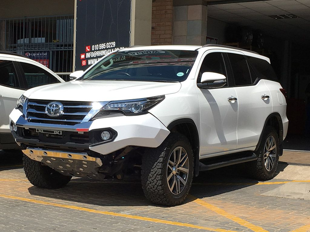 Rhino 4 4 toyota fortuner 2016 front evolution bumper