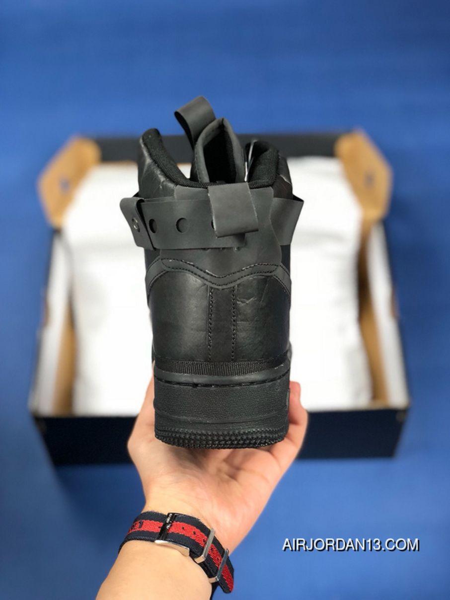 brand new 48e38 f46b5 Magic Stick X Nike Air Force 1 High AF1 VIP Originals Mens Sports Shoes  Black Super Deals