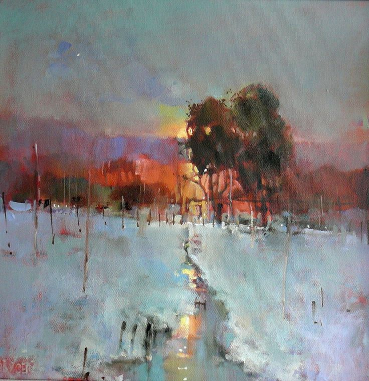 Brian Ryder (British, b. 1946, North London, UK) - Untitled Paintings: Oil