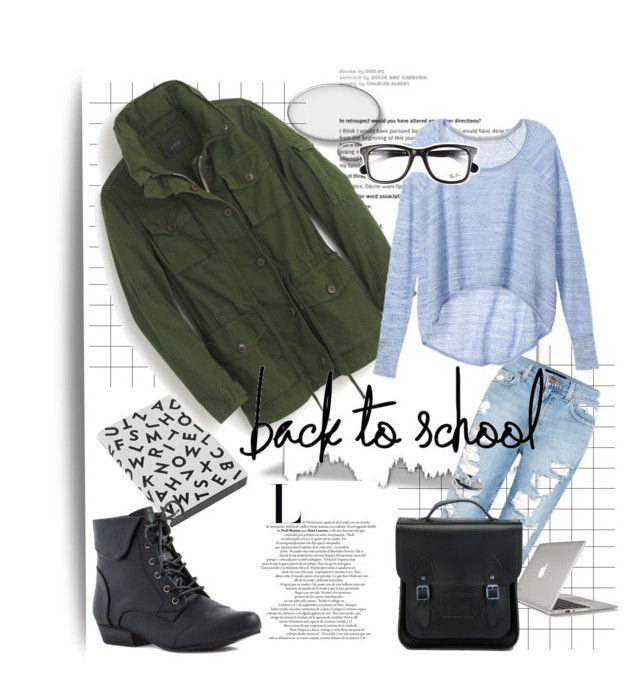 """Back to school"" by gelykou ❤ liked on Polyvore"