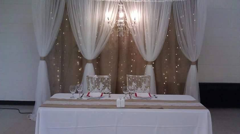 Wedding decor chair covers boutique linen rentals niagara offering complete wedding decor in niagara falls on including table linens backdrops centerpieces and chair covers in niagara falls and surrounding area junglespirit Image collections