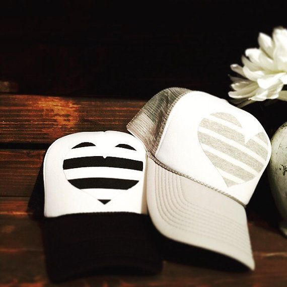 Best selling black and white heart or Skinney Gray and white striped ... 486eee214d9