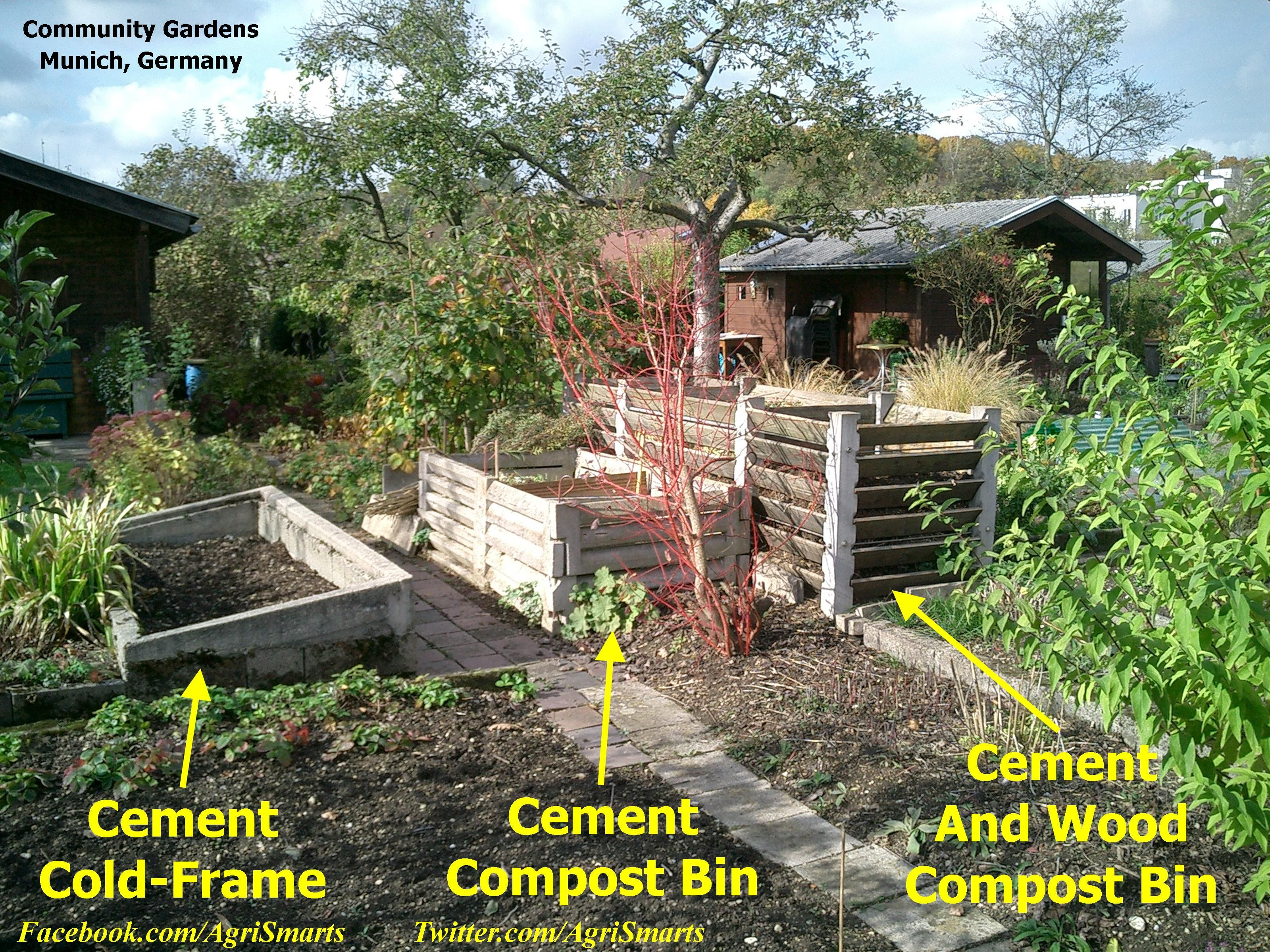 german engineering in the garden check out the concrete compost