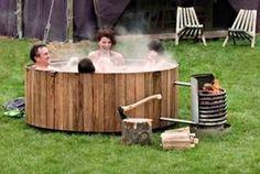 DUTCHTUB® Wood Eco-Friendly Hot Tub