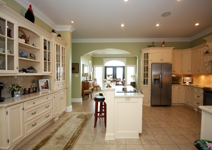 Beautiful Modern Kitchen With White Cabinets In Nova Scotia White Kitchen Cabinets Modern Kitchen White Cabinets