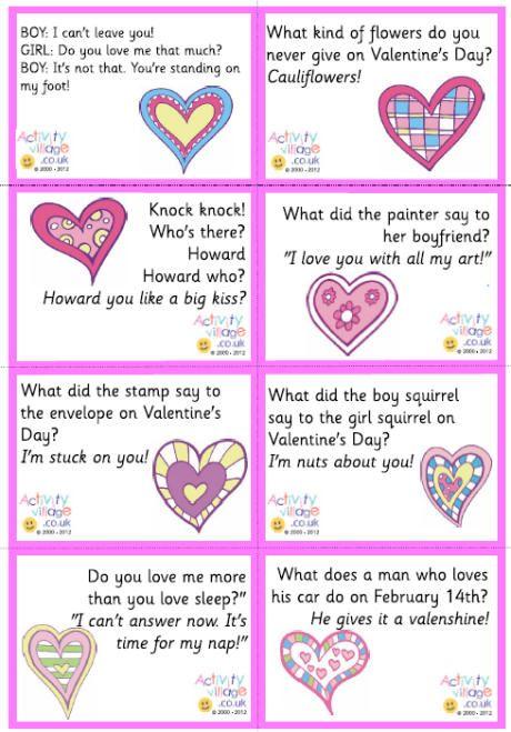 Valentine lunch box jokes | Celebrate! | Valentine jokes ...
