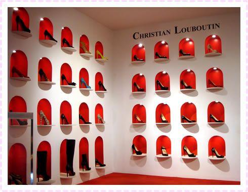 「Christian Louboutin shop interior」の画像検索結果