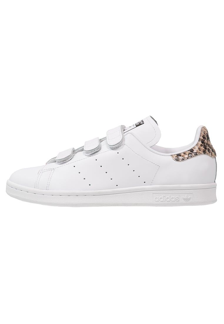adidas Originals STAN SMITH - Trainers - white/core black ...