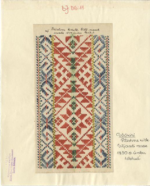 Vöökiri (ERM EJ 36:11); Eesti Rahva Muuseum
