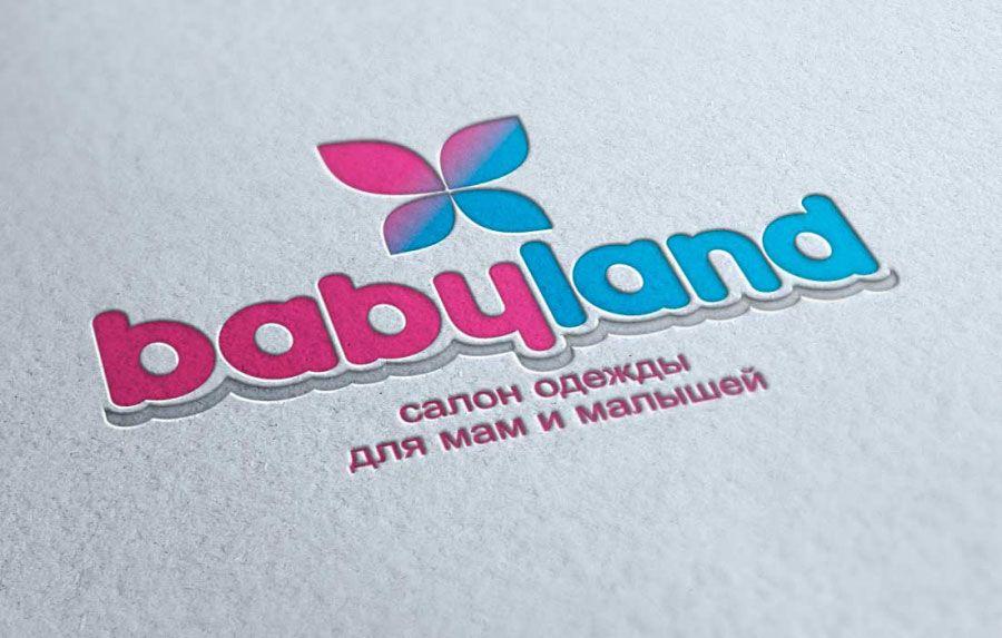 446e601a8a7e Логотип для магазина Baby land, детской одежды в г. Елабуга ...