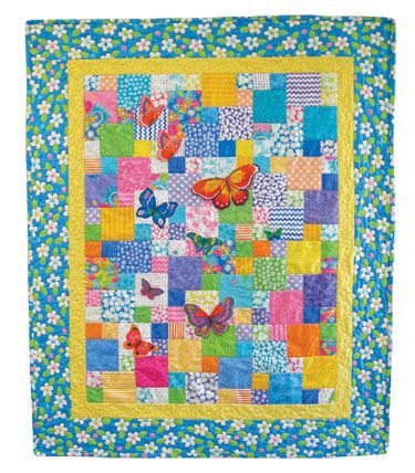 signature quilting pattern   ... Quilt in a Day Signature Pattern 1270 Fabric Frenzy Quilt Pattern
