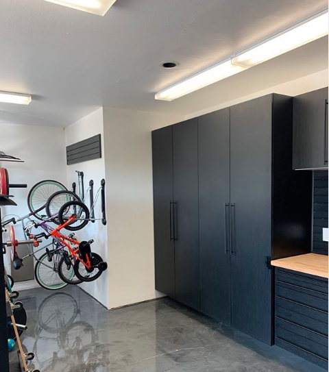 How Great Does This Garage Makeover Look With The Four