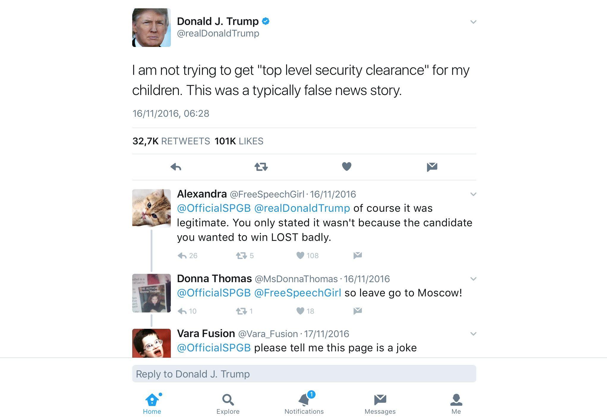 Pin Van Indigo Jones Op Terrible Trump Tweets