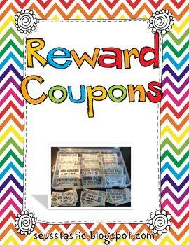 Reward Coupons (Freebie by Mel D)