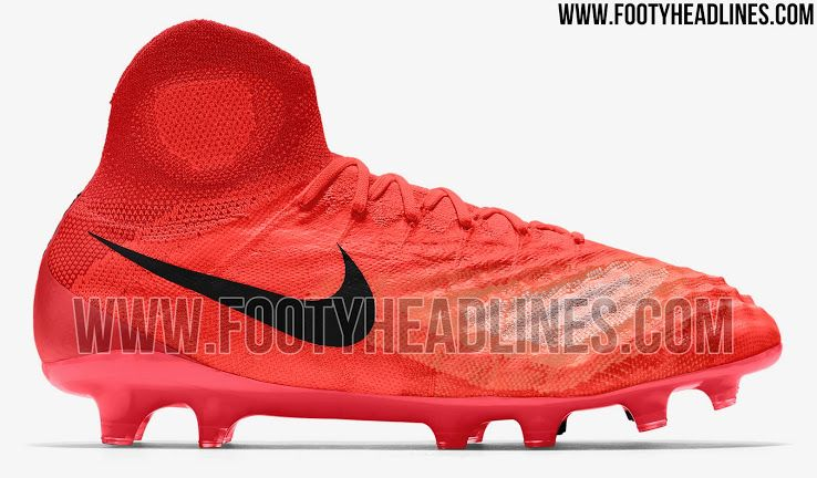 size 40 02c3e 2cbad Red Nike Magista Obra II 2017 Boots Leaked - Footy Headlines ...