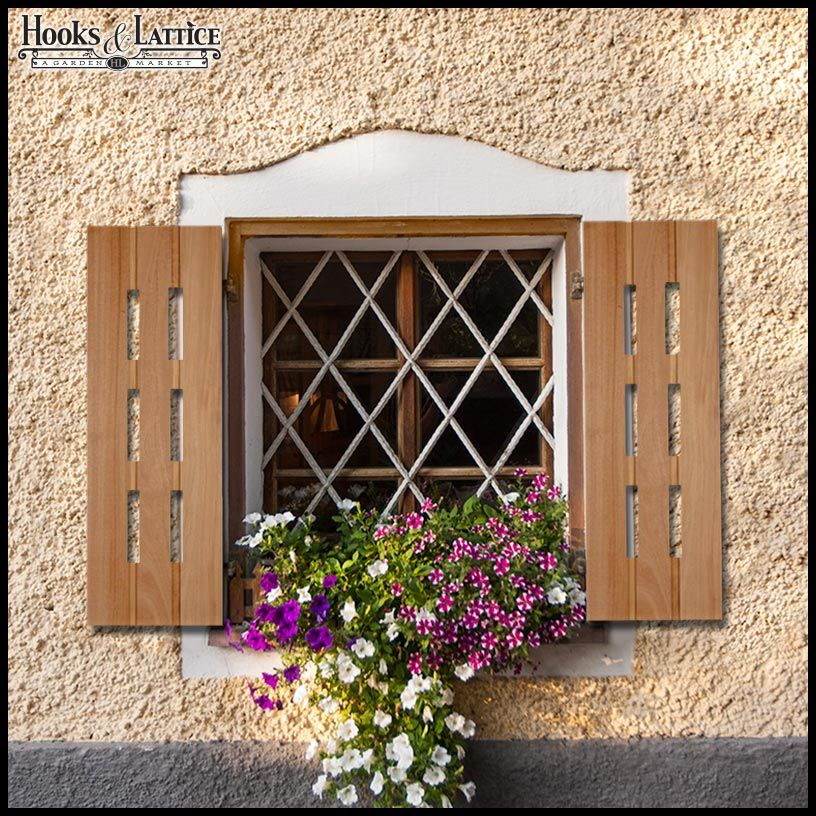 image result for cottage window shutters exterior shutters